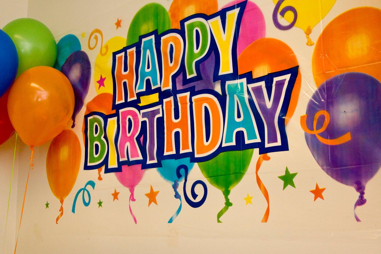 Анимация, прикольные плакаты с днем рождения картинки